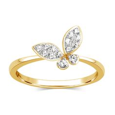What a DELIGHTFUL looking Ring! It is a BEAUTIFUL Ladies Yellow Gold Cubic Zirconia Fashion Dinner Ring. Diamond Wedding Rings, Wedding Ring Bands, Diamond Engagement Rings, Diamond Rings, Diamond Nose Stud, Butterfly Ring, Anniversary Jewelry, Or Rose, Fashion Rings