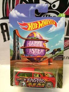 (TAS003007) - Hot Wheels - Happy Easter