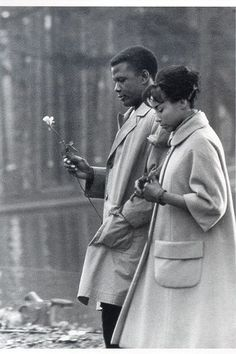 Sidney Poitier and Diahann Carollin Paris Blues (Martin Ritt,1961) viahollyhocksandtulips