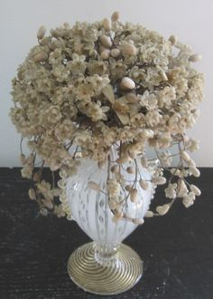 ANTIQUE WAX FLOWERS FRENCH SUPER RARE HUGE BOUQUET OF ANTIQUE WAX FLOWERS FROM