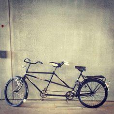 Vintage tandem bike <3