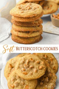 Crisp, golden brown edges, soft and chewy centers, and plenty of rich butterscotch chips make these the best butterscotch cookies you'll ever taste! Grandma's old-fashioned recipe comes out perfectly every time! Butterscotch Chip Cookies