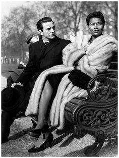 Pearl Bailey & her husband Louie Bellson