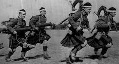 Scottish World War Two soldiers, 1940