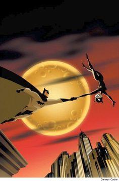 Batman and Catwoman by Darwyn Cooke