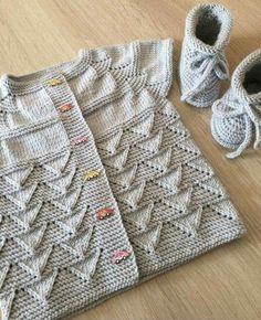 Knit Kid Cardigan - Free Pattern | Beautiful Skills - Crochet Knitting Quilting | Bloglovin'