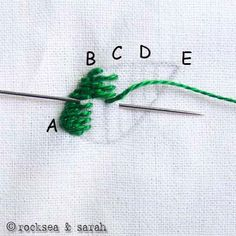 this is THE COOLEST website... everything you'll ever need to know about embroidery stitches
