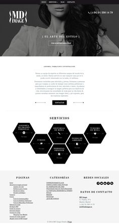 Web Design in black & white | Design: UI/UX. Apps. Websites | MD Image |
