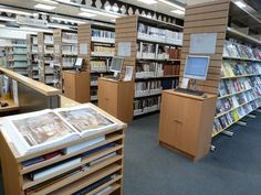 University Library at Library Images, Canterbury, Libraries, Bookcase, University, Shelves, Room, Furniture, Home Decor