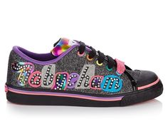 BABYCHAM WOMENS FRANKIE CANVAS BLACK GLITTER TRAINERS SHOES (R5C) in Clothes, Shoes & Accessories, Women's Shoes, Trainers | eBay