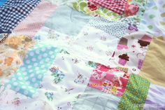 Easy Patchwork Picnic Quilt