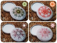 Nová zrcátka a jejich dostupnost Mandala Design, Decorative Plates, The Originals, Buttons, Home Decor, Decoration Home, Room Decor, Home Interior Design, Home Decoration