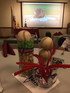 Baseball Banquet. So clever and perfect!