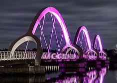 Sölvesborg Bridge by Ljusarkitektur