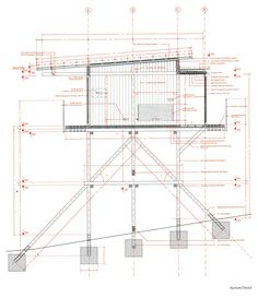 Smiljan Radic - Wood house, Colico Lake 2015. The stilt like...