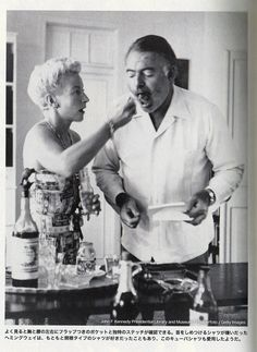 circa American born writer, novelist Ernest Hemingway pictured at his Cuban farmhouse Finca Vegia with his wife Mary Welsh Hemingway Get premium, high resolution news photos at Getty Images Ernest Hemingway, Hemingway Cuba, Hemingway Quotes, Famous Men, Famous Faces, Famous People, Story Writer, American Literature, Scott Fitzgerald