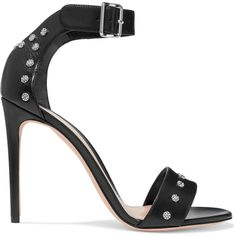 3a5a9c60269d5d Alexander McQueen Studded leather sandals ( 790) ❤ liked on Polyvore  featuring shoes