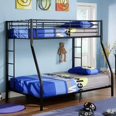 Awesome bunk bed for the boys!