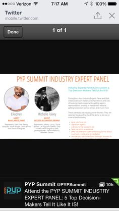 Join us for the industry expert panel at the PYP Summit in White Plains NY. APRIL 18-20, 2015. www.pypsummit.com