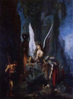 Oedipus Wanderer (c. 1888), Gustave Moreau