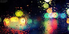 Rainy Bokeh by Jörg Dickmann, via Flickr