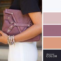 A combination of light plum | Discover Color Palette