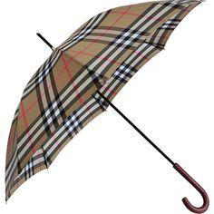 Burberry Waterloo umbrella found on Polyvore