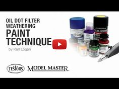Embedded thumbnail for Advanced Tips - Oil Dot Filter Weathering Paint