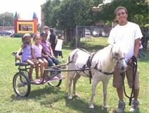 Chamberlin offers very unique pony cart rides