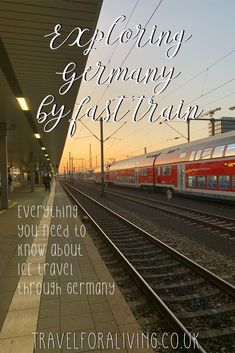 ICE Travel in Germany - Exploring Germany by fast train - Travel for a Living Europe Destinations, Europe Travel Guide, Travel Guides, Travelling Europe, Visit Germany, Germany Travel, Frankfurt, Berlin, Budget