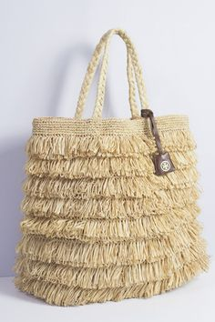 Tori Burch Raffia Straw Tote Designer Large Shopper Bag Autumn Harvest Handbag