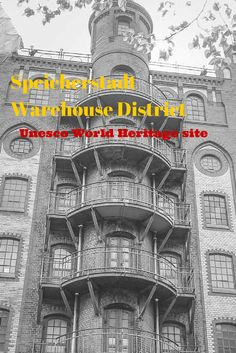 Touring the Speicherstadt-warehouse-district, a new Unesco World Heritage site and the first certified site for Hamburg, Germany http://travelphotodiscovery.com/speicherstadt-warehouse-district-a-new-unesco-site/