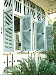 charleston outside window treatments | This traditional porch near Palmetto Beach, South Carolina, employs ...