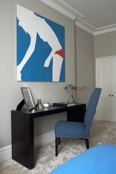 Turner Pocock art in interior design http://www.elizabethmachinpr.com/turner-pocock.html