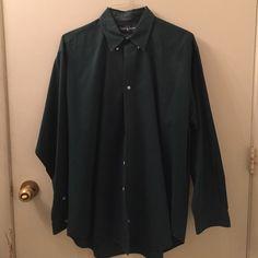 Ralph Lauren dress shirt Good condition. dark green Ralph Lauren Tops Button Down Shirts
