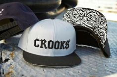 CROOKS & CASTLES Snapbacks in 3 colours: http://everythinghiphop.com/crooks-and-castles-mens-woven-snapback-cap-sureno-dark-navy-black.html  http://everythinghiphop.com/crooks-and-castles-mens-woven-snapback-cap-sureno-light-grey-black.html  http://everythinghiphop.com/crooks-and-castles-mens-woven-snapback-cap-sureno-black.html