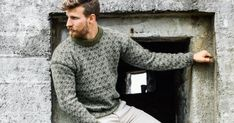 Strikkegenser herre Soft Autumn, Half Zip Pullover, Men Sweater, Knitting, Boys, Sweaters, Style, Ideas, Fashion