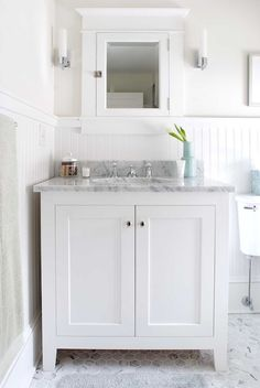 white beadboard backsplash beadboard white bathroom cabinet