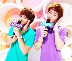 SHINee - Minho & Onew