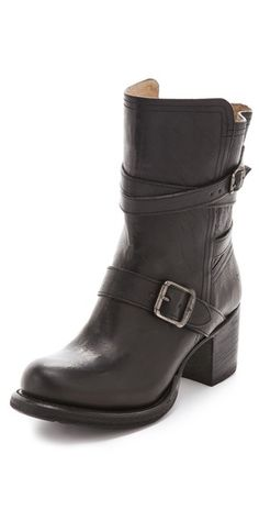 Frye Vera Strappy Boots  obsessed with frye boots!