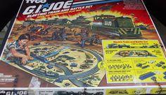 GI JOE HO SCALE Tyco Battle Ground Train Set In original box complete Nice #Tyco