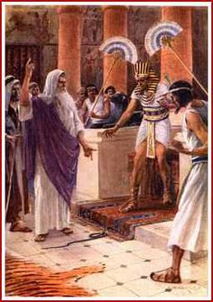 """Exodus 5:5Afterward, Moses and Aaron went in and said to Phar′aoh: """"This is what Jehovah the God of Israel says, 'Send my people away so that they may celebrate a festival to me in the wilderness.'"""" 2But Phar′aoh said: """"Who is Jehovah, that I should obey his voice to send Israel away? I do not know Jehovah at all, and what is more, I will not send Israel away"""