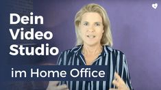 Dein Video Studio im Home Office - Birgit Quirchmayr Earn From Home, Make Money From Home, How To Make Money, Studios, Video Studio, My Way, Videos, Home Office, Wellness