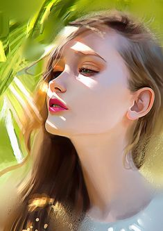 Color study portrait, Carlos Alberto on ArtStation at http://www.artstation.com/artwork/color-study-portrait