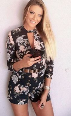 Rompers, Dresses, Fashion, Gowns, Moda, Jumpsuits, Fashion Styles, Romper Clothing, Romper Suit