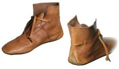 Viking Boots X sec., Medieval - Medieval Clothing - Medieval shoes boots - Viking Boots X sec. Made entirely by hand using medieval techniques. Medieval Boots, Medieval Clothing, Costume Viking, Vikings, Viking Shoes, Shoe Pattern, How To Make Shoes, Leather Projects, Boots For Sale