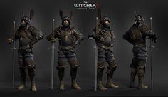 character model - Nilfgaard Knight from game Witcher 2 Assassins of Kings / concept: Jan Marek, Bartek Gaweł / model: Grzegorz Chojnacki