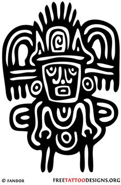 Inca (who in the world would want this as a tattoo?)