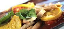 Whole Grain Pasta with Sautéed Vegetables and Fresh Basil    Read more: http://www.veria.com/recipe/whole-grain-pasta-with-sauted-vegetables-and-fresh-basil#ixzz28kLwo3GH