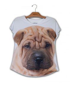 Camiseta Sharpei www.usenatureza.com #UseNatureza #JeffersonKulig